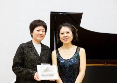 mit Reiko Mizutani (Architektin)